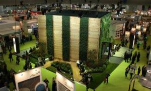 Ecobuild Exhibition Green Wall