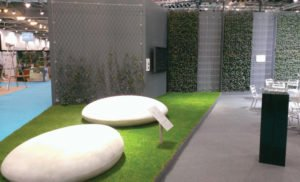 Ecobuild Reflections Green Wall
