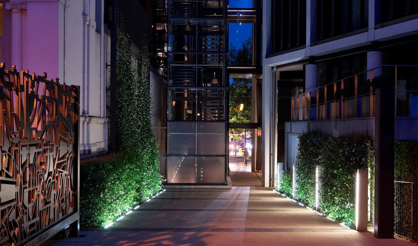 Green wall installed at One Hyde Park London