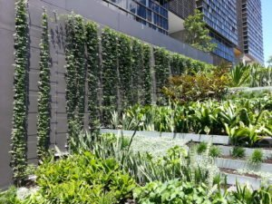 One Central Park Green Wall, Sydney