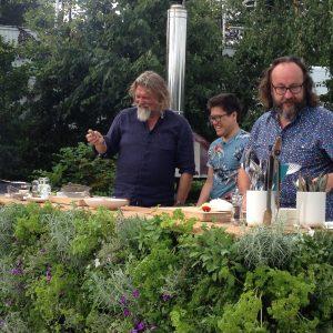 Jakob Live on Saturday Kitchen at Hampton Court