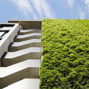 Sihlcity Green Wall, Zurich